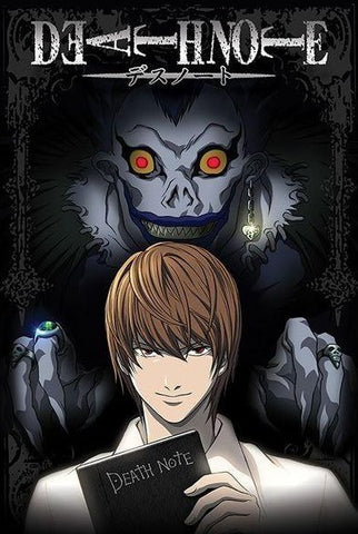 POSTER - DEATH NOTE FROM THE SHADOWS (61 x 91.5cm)