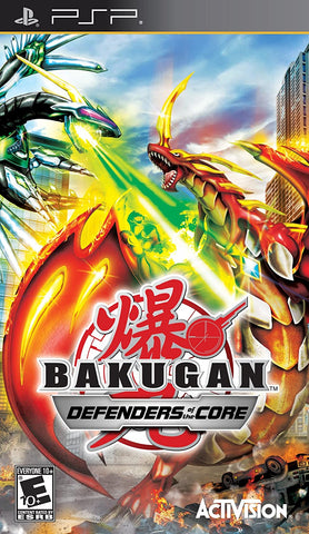 PSP - BAKUGAN: DEFENDERS OF THE CORE
