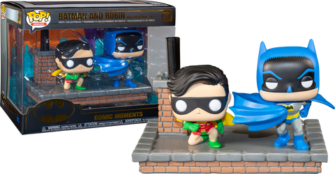 POP! COMIC MOMENS BATMAN AND ROBIN