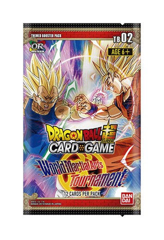 DRAGON BALL SUPER - WORLD MARTIAL ARTS TOURNAMENT BOOSTER x3