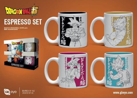 Dragon Ball Super (Goku) Mug Set
