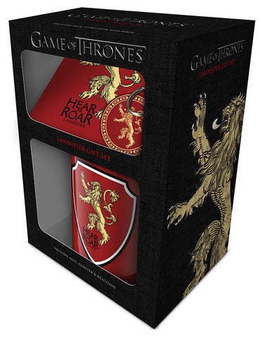 CANECA - GAME OF THRONES - LANNISTER GIFT BOX