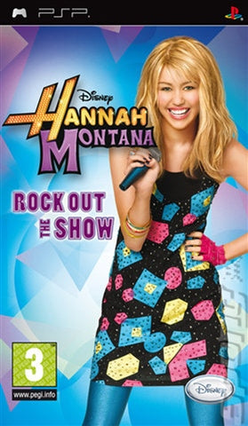 PSP - HANNAH MONTANA ROCK OUT THE SHOW