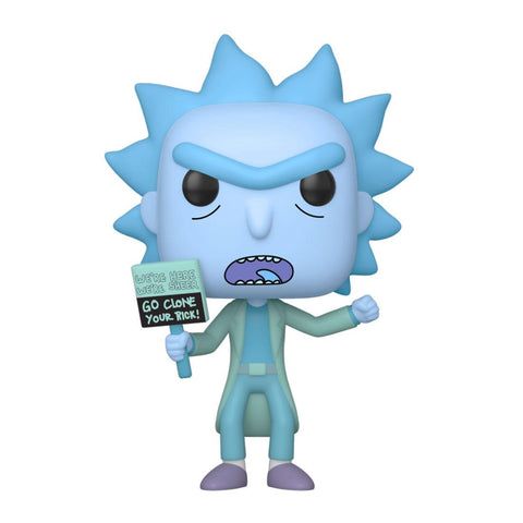 POP! RICK AND MORTY - HOLOGRAM RICK