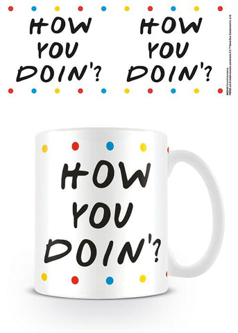 CANECA - FRIENDS (HOW YOU DOIN-DOTS)