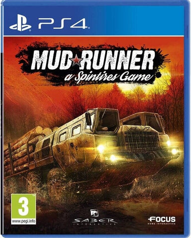 PS4 - MUD RUNNER