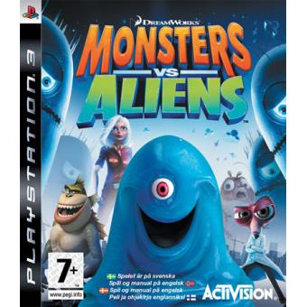 PS3 - MONSTERS VS ALIENS