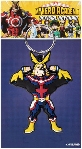 PORTA-CHAVES - MY HERO ACADEMIA ALL MIGHT (RUBBER)