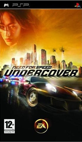 PSP - NEED FOR SPEED UNDERCOVER
