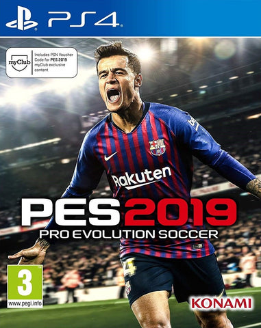 PS4 - PES 2019 - SEMINOVO