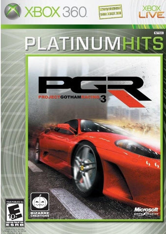 XBOX 360 - PROJECT GOTHAM RACING 3