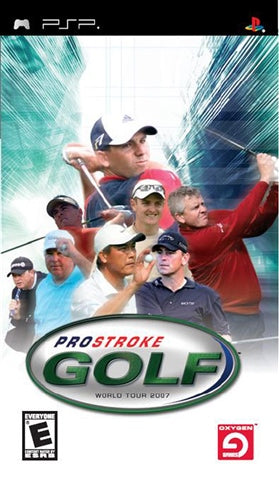 PSP - PRO STROKE GOLF WORLD TOUR 2007