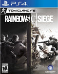 PS4 - TOM CLANCY'S RAINBOW SIX SIEGE - SEMINOVO