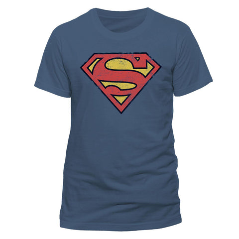 T-SHIRT - SUPER MAN LOGO