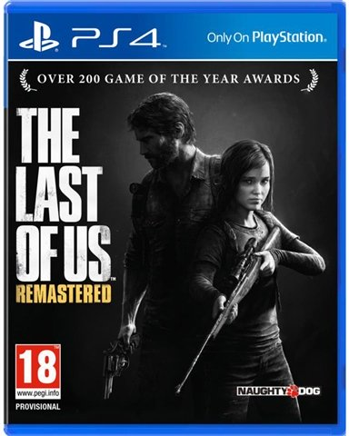 PS4 - THE LAST OF US REMASTERED - SEMINOVO