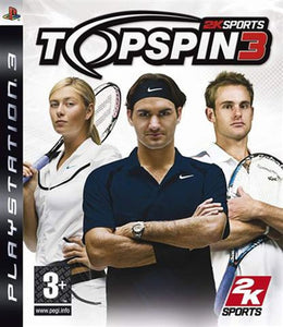 PS3 - TOP SPIN 3 - SEMINOVO