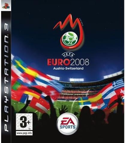 PS3 - UEFA EURO 2008 - SEMINOVO