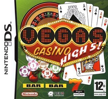 NINTENDO DS - VEGAS CASINO HIGH 5 - SEMINOVO