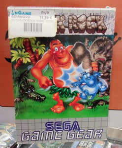 SEGA GAME GEAR - CHUCK ROCK - SEMINOVO