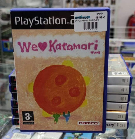 PS2 - WE LOVE KATAMARI - SEMINOVO