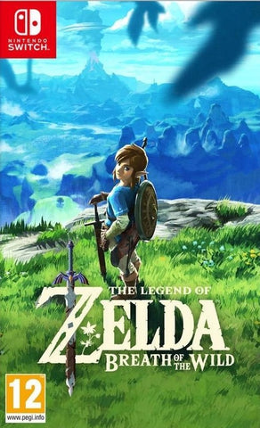 NINTENDO SWITCH - THE LEGEND OF ZELDA: BREATH OF THE WILD - SEMINOVO