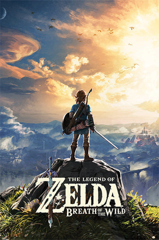 POSTER - LEGEND OF ZELDA BREATH OF THE WILD