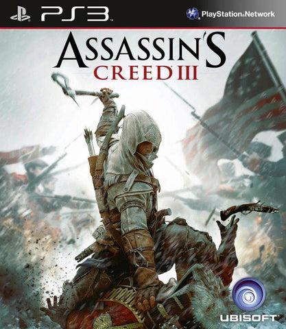 PS3 - ASSASSIN'S CREED III - SEMINOVO