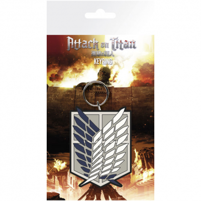 PORTA-CHAVES ATTACK ON TITAN EMBLEM