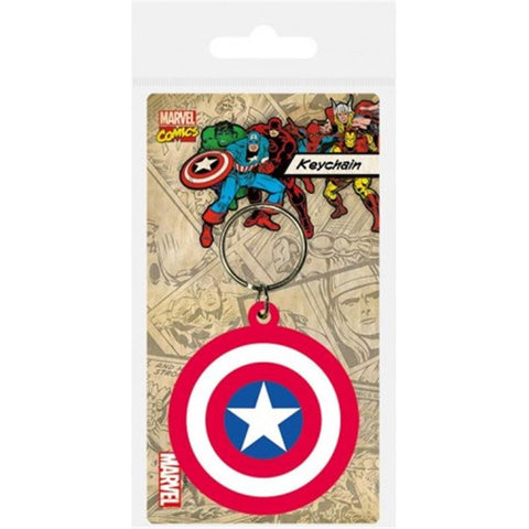 PORTA-CHAVES - CAPTAIN AMERICA SHIELD