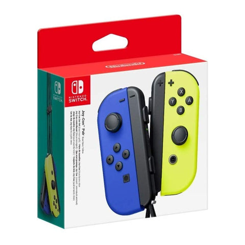 JOY-CON (SET ESQ/DIR) AZUL/AMARELO NEÓN - SWITCH
