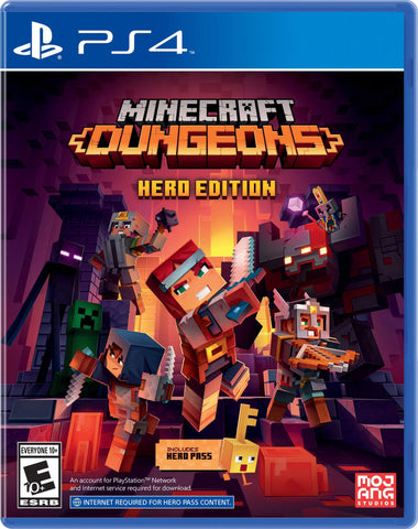 PS4 - MINECRAFT DUNGEONS