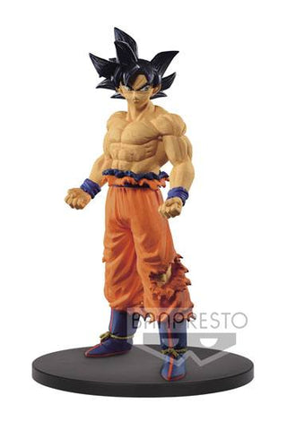 DRAGON BALL SUPER PVC STATUE SON GOKU ULTRA INSTINCT 19 CM