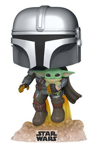 POP! STAR WARS - MANDO FLYING W/ JET PACK
