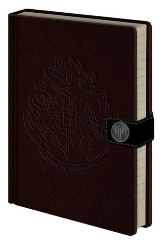 CADERNO - HARRY POTTER PREMIUM NOTEBOOK A5 HOGWARTS CREST