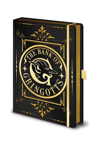 CADERNO - HARRY POTTER PREMIUM NOTEBOOK A5 GRINGOTTS