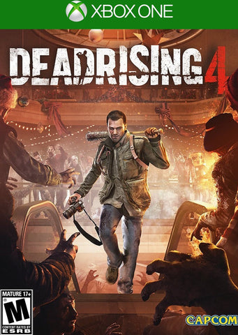 XBOX ONE - DEADRISING 4 - SEMINOVO