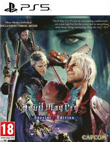 PS5 - DEVIL MAY CRY 5 SPECIAL EDITION