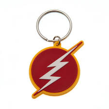 PORTA-CHAVES - THE FLASH LOGO
