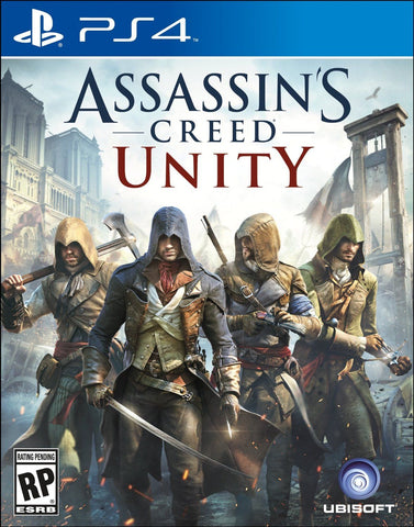 PS4 - ASSASSINS CREED UNITY