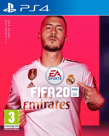 PS4 - FIFA 20 - SEMINOVO