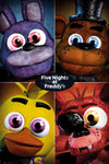 POSTER - FIVE NIGHTS AT FREDDYS QUAD (61 x 91.5cm)
