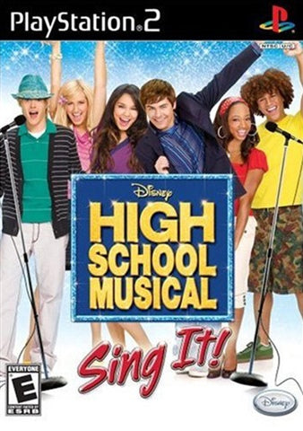 PS2 - HIGH SCHOOL MUSICAL SING IT