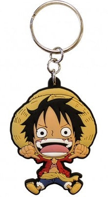 PORTA-CHAVES - ONE PIECE LUFFY