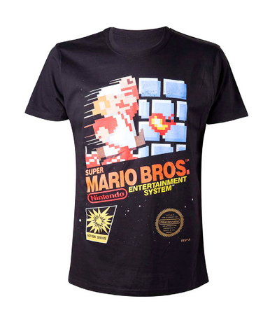 T-SHIRT - SUPER MARIO BROS ENTERTAINMENT