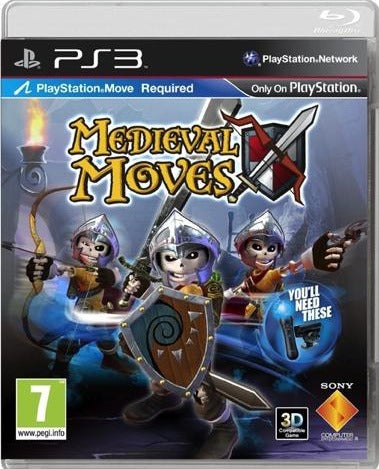 PS3 - MEDIEVAL MOVES