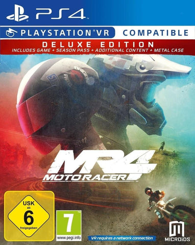 PS4 - MOTORACER 4 DELUXE EDITION