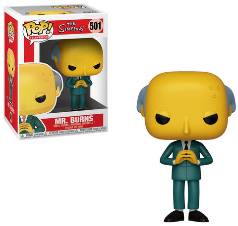 POP! THE SIMPSONS - MR. BURNS