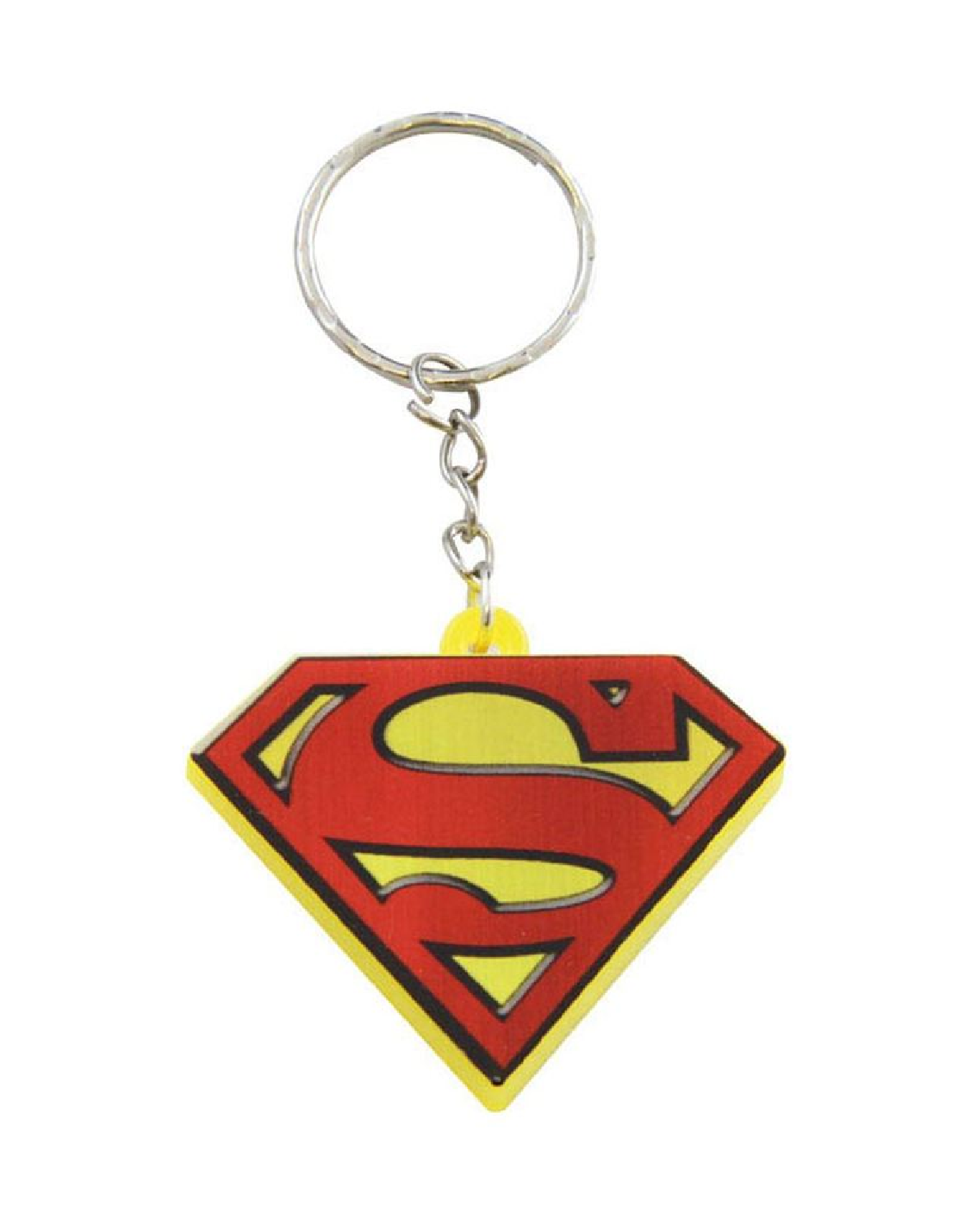 PORTA-CHAVES - DC COMICS SUPERMAN COM LUZ