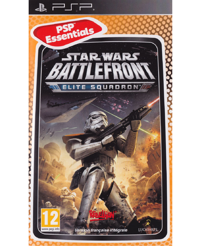 PSP - STAR WARS BATTLEFRONT ELITE SQUADRON