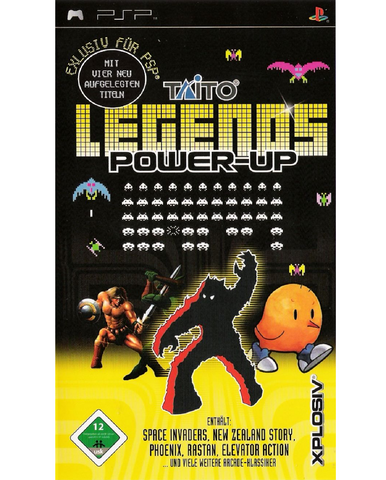 PSP - TAITO LEGENDS POWER UP